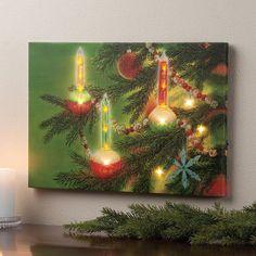 christmas holiday BUBLE LIGHTS LED lighted print wall hanging art night lamp #genericchristmasholidaylightsdecoration #decorativeart