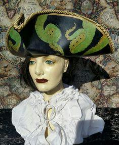 Pirate Hats, Pirate Costumes, Renaissance Fair, Hat Making, Pirates, Captain Hat, Princess Zelda, Big, Fictional Characters