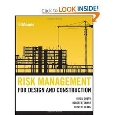 Risk management allows construction professionals to identify the risks inherent in all projects, and to provide the tools for evaluating the probabilities and impacts to minimize the risk potential. This book introduces risk as a central pillar of project management and shows how a project manager can be prepared for dealing with uncertainty.