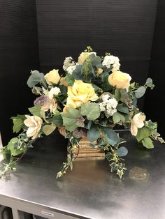 Spring 2018 by Randi at Lavender Lilli on Etsy Floral Centerpieces, Floral Arrangements, Silk Flowers, Tablescapes, Lavender, Floral Wreath, Crafting, Wreaths, Spring