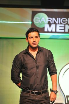 John Abraham at Garnier Men Powerlight a Village Event.