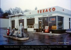 Old Texaco Station.