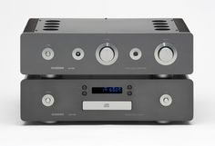 Sugden A21SE Special Edition Pure Class 'A' Integrated Amplifier and Sugden CD21SE Cascode Current Compact Disc Player in Graphite finish.