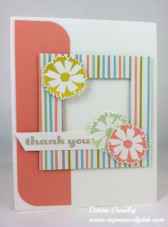 Sweet card and could put a photo in it as an added bonus!  Sweet sorbet2
