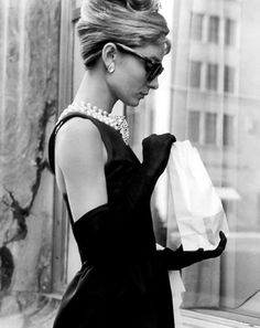 Holly Golightly meets fast food.