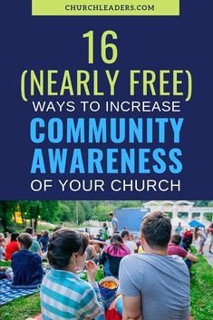 If the people in your community don't know have an awareness of your church they won't ever join your church. Here are 16 ways to increase community awareness. Church Games, Church Activities, Kids Church, Church Ideas, Church Ministry, Youth Ministry, Ministry Leadership, Ministry Ideas, Church Welcome Center