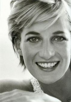 Princess Diana. She was a beautiful lady..