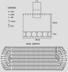 Patrones de mochila tejida al crochet | Crochet y dos agujas