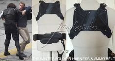 The Winter Soldier back harness & ammo belt