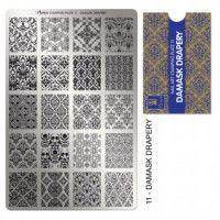 Moyra Stampingplatte Faces 12