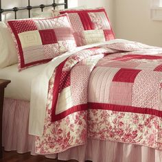 Just found this Patchwork Bedding - Sherburne Red Patched Quilt -- Orvis on Orvis.com!