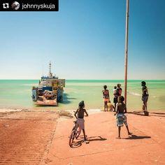 TOP END LIFE. Love this awesome photo by @johnnyskuja . Such a unique part of Australia. Troppo kids. Troppo life.  #milingimbi #arnhemland #barge #topendnt #ntaustralia #nt #northernterritory #topendtourism #tourismtopend #seeaustralia #aboriginalaustralia #aboriginalculture #australia #growinguptroppo #kids #ntkids #bringthekids #familytravel #familytrip #familyholiday #jetsettingkids #kidstravel #familyholiday