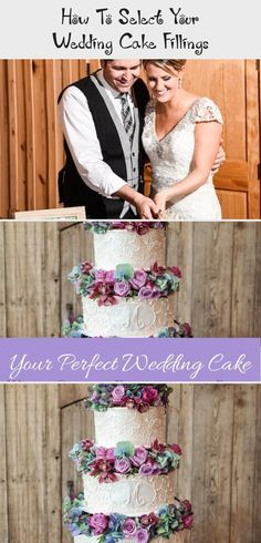 How to Select Your Wedding Cake Fillings - Each & Every Detail - McKinney Wedding Planner - Dallas Wedding Planner Large Wedding Cakes, Southern Wedding Cakes, Types Of Wedding Cakes, White Almond Cakes, White Cakes, Wedding Cake Fillings, Wedding Cake Flavors, Champagne Cake, Caramel Buttercream