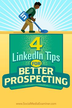 Wondering how LinkedIn can help you generate and connect with leads?  LinkedIn is the go-to social platform for generating leads and building trust with your ideal prospects.  In this article, you'll discover four tips to help you get more out of your LinkedIn sales efforts. Via /smexaminer/.