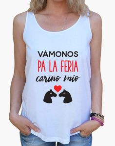 Camiseta mujer Vámonos pa la feria