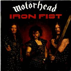 """For Sale -Motorhead Iron Fist - Red Vinyl UK  7"""" vinyl single (7 inch record)- See this and 250,000 other rare and vintage records & CDs at http://eil.com/"""
