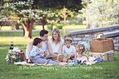 Story time! Family picnic photoshoot in tower grove park by Jillian Farnsworth.