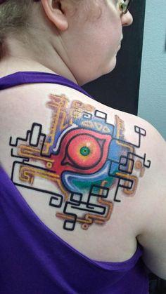 99 Zelda Tattoo Designs that Will Make You Want to Play Gamer Tattoos, Star Tattoos, Cute Tattoos, Sleeve Tattoos, Tattoos For Guys, Kawaii Tattoos, Tatoos, Back Of Shoulder Tattoo, Small Shoulder Tattoos
