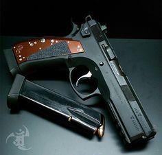 CZ SP01 custom pistol, guns, weapons, self defense, protection, 2nd amendment, America, firearms, munitions #guns #weapons