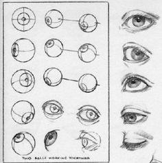 dibujos-los-ojos-de-un-hombre
