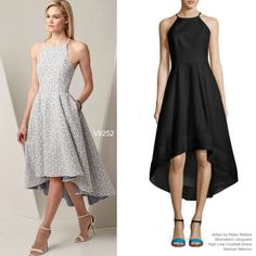 Sew the Look: Vogue Patterns V9252 high low dress sewing pattern