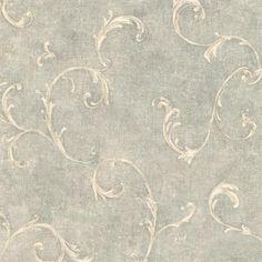 Sage Bayley Scroll  Wallpaper