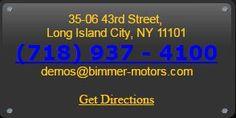 Contact BIMMER MOTORS Now