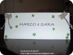 Il matrimonio delle grucce di Sara P. nomi dei tavoli