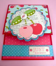 Hallmark Ladybugs: Cricut - Just Because Cards