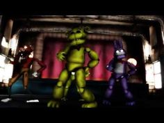 【MMD】Five nights at Freddy's - Just Gold - YouTube