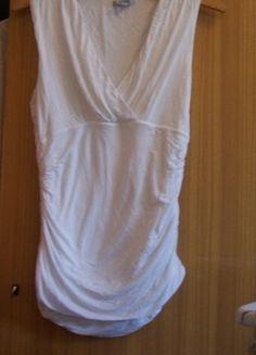 Kup mój przedmiot na #vintedpl http://www.vinted.pl/damska-odziez/bluzki-bez-rekawow/10289810-biala-bluzka-sciagana-hm