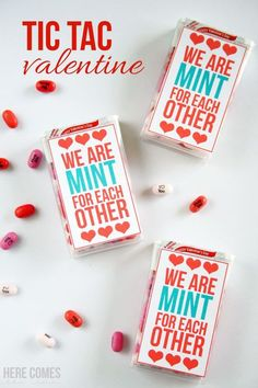 Print out this Valentine and attach to a box of Tic Tacs to make a fun valentine. Happy Valentine Day HAPPY VALENTINE DAY | IN.PINTEREST.COM WALLPAPER #EDUCRATSWEB