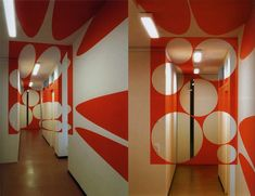 These Anamorphic Design Illusions Will Completely Change How You Look At A Room. Deco Design, Wall Design, House Design, Interior Walls, Interior Design, 3d Foto, Cool Optical Illusions, Room Paint, Art Plastique