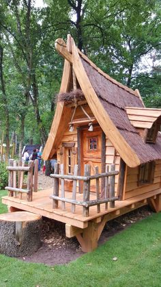 Play street houses - All About Cubby Houses, Fairy Houses, Dog Houses, Play Houses, Tiny House Cabin, Cabin Homes, Crooked House, Fairytale House, Wendy House