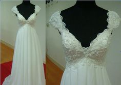 classic  beaded lace wedding/bridesmaid gown by CrystalBridalNYC, $399.00