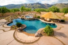 The perfect backyard for entertaining!