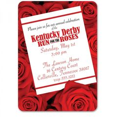 Derby Invitations!