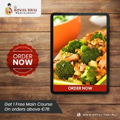 Healthy, sumptuous and satiating Thai recipes brought to you from Royal Thai's authentic kitchen. . . . . #SafetyFirst #OnlineOrder #FreeDelivery #Thai #ThaiFoods #ThaiDishes #Cuisines #FoodPorn #Foodie #ThaiCuisine #Restaurant #Yummy #Delicious #ThaiFoodLover #FoodLovers #FoodBlogger #SeaFood #ThaiRestaurant #RoyalThai #HygienicEnvironment Best Thai Restaurant, Restaurant Order, Authentic Thai Food, Thai Dishes, Thai Recipes, Amsterdam, Seafood, Food Porn, Vegetables