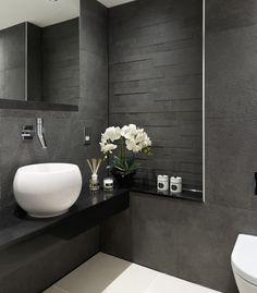 Toilette/mur