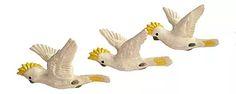 Yellow Crested Australian Cockatoos