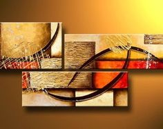 Beautiful Girl in Nude Large Modern Abstract Hand Painted Oil Painting on Canvas Wall Art Deco Home Decoration (Unstretch No Frame) 3 Piece Canvas Art, 3 Piece Wall Art, Abstract Canvas Wall Art, Wall Art Sets, Large Wall Art, Modern Oil Painting, Large Painting, Oil Painting Abstract, Hand Painting Art