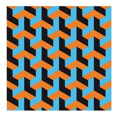 op art necker cube varient 2 by hoppermind, via Flickr