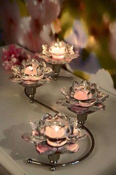 Lootuksenkukka somisteilla Tea Lights, Candle Holders, Candles, Inspiration, Live, Kitchens, Biblical Inspiration, Tea Light Candles, Porta Velas