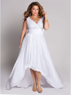 wedding dress Would look great with cowboy boots!!