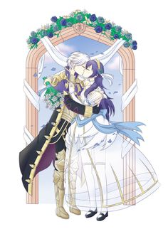 Robin x Lucina: Wedding Day Fire Emblem Awakening, Different Points Of View, Fire Emblem Characters, Fire Emblem Fates, Fanfiction, Super Smash Bros, Best Couple, Game Art, Photo Art