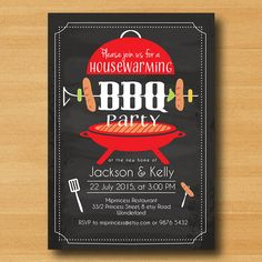 Items similar to bbq invitation birthday bbq housewarming bbq retirement bbq chalkboard design bbq party, card 408 on Etsy Invitation Flyer, Invitations, Housewarming Party Themes, Neighborhood Party, Picnic Theme, Birthday Bbq, Grillin And Chillin, Partying Hard, Throw A Party