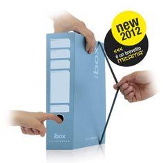 ibox, il registratore intelligente    Senza custodia è pratico da usare. Con elastico come una cartella. Con alette per documenti in ordine.