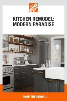 Kitchen Storage, Kitchen Decor, Porch Decorating, Interior Decorating, Modern Materials, Diy Bedroom Decor, Home Decor, Kitchen Inspiration, Traditional House