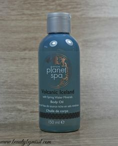 Avon Planet Spa Volcanic Iceland Body Oil review via @beautybymissl www.beautybymissl.com
