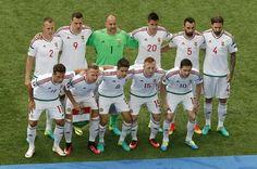 Hungary against Austria.